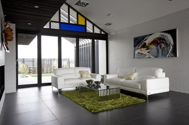 Blue mountain ivory black tiled lounge 47 capriana dr for Rooms interior design hamilton nz