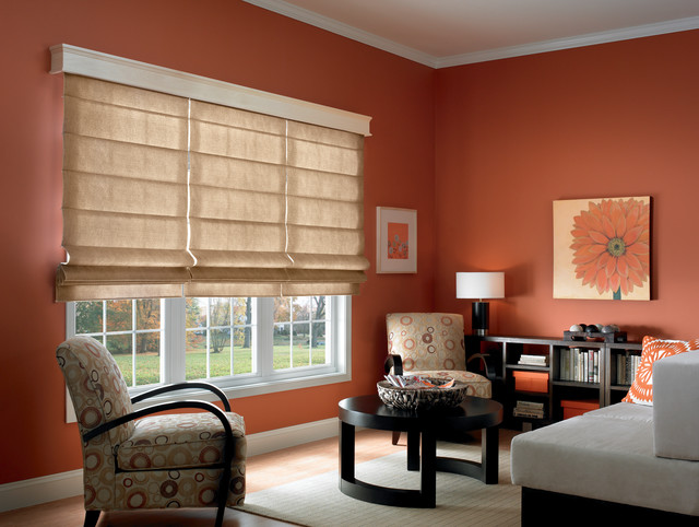 Bali Casual Classic Romans Plume and Statement modern-roman-shades