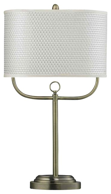 Dimond Lighting HGTV256BR HGTV Home Antique Brass Table Lamp contemporary-table-lamps