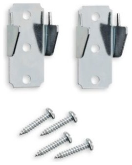 Springs Window Fashions Replacement Double Curtain Rod Brackets (2 per set) contemporary curtains