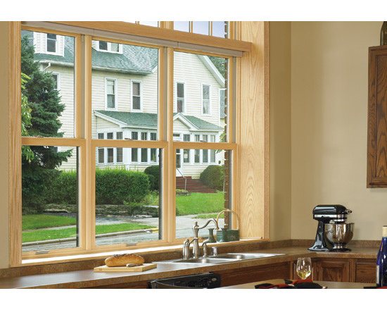 Double Hung Fiberglass WIndows -