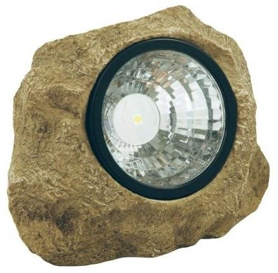 Moonrays Outdoor Lighting. Outdoor Polyresin Solar Powered LED