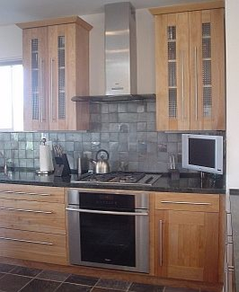 Contemporary Stainless Splash Kitchen contemporary