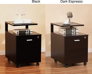 Contemporary Filing Cabinets And Carts
