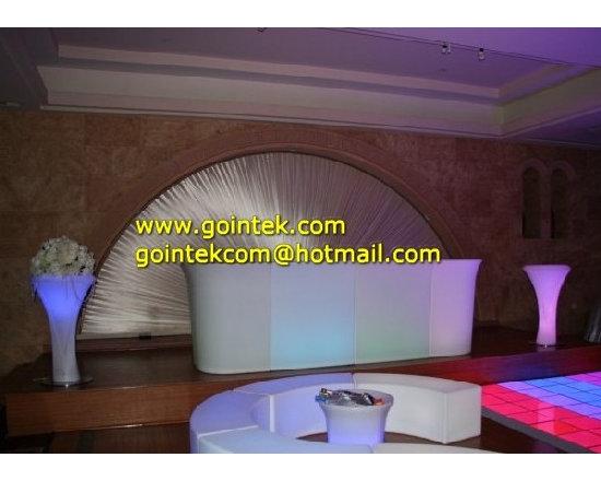 Illuminated LED Lighting Bar Counters -