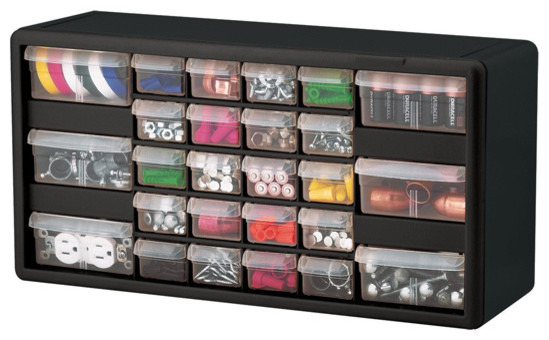 Plastic Drawer Organizer - 26 Compartments - Garage And ...