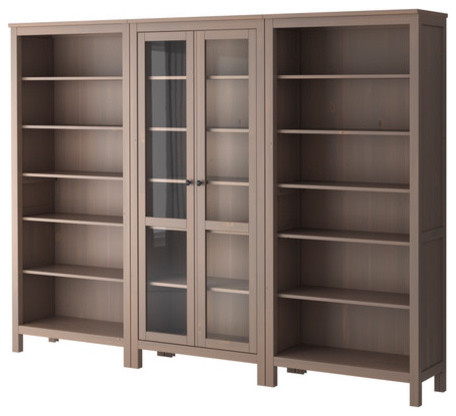 HEMNES Storage combination modern bookcases cabinets and computer armoires