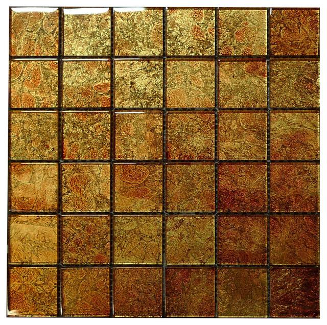 w28 copper glass mosaic contemporary tile los