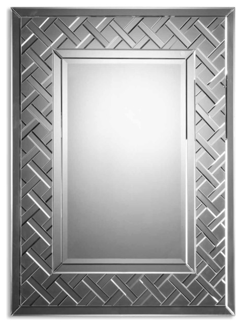 Cleavon Frameless Mirror traditional-wall-mirrors