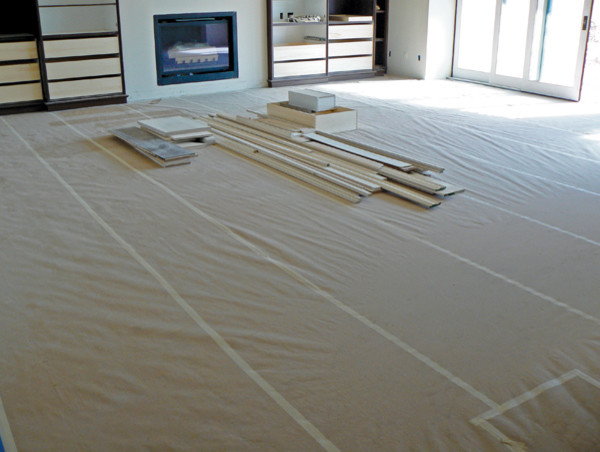 Wood Shed Floor Protection