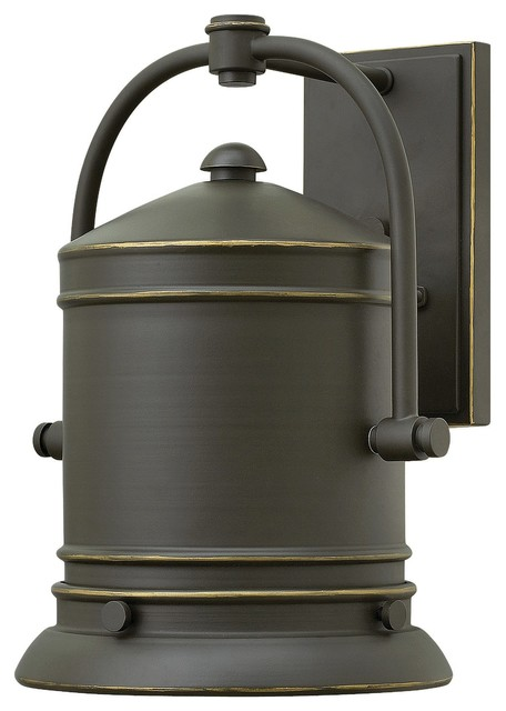 Hinkley Lighting 2214OZ Pullman Oil Rubbed Bronze Outdoor Wall Sconce Farmh
