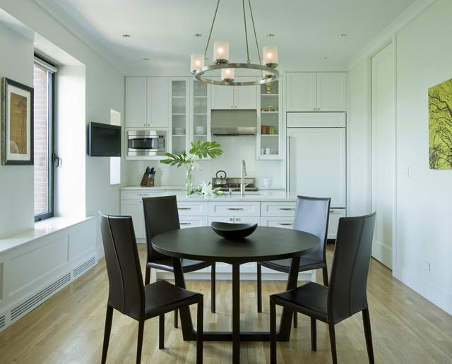 257 Central Park West contemporary-kitchen