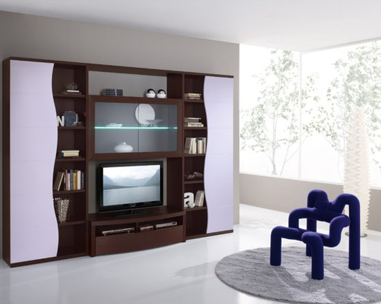 Modern Contemporary Entertainment Center Spar Avana 113 - $4,199.00 - Modern Contemporary Entertainment Center Spar Avana 113.