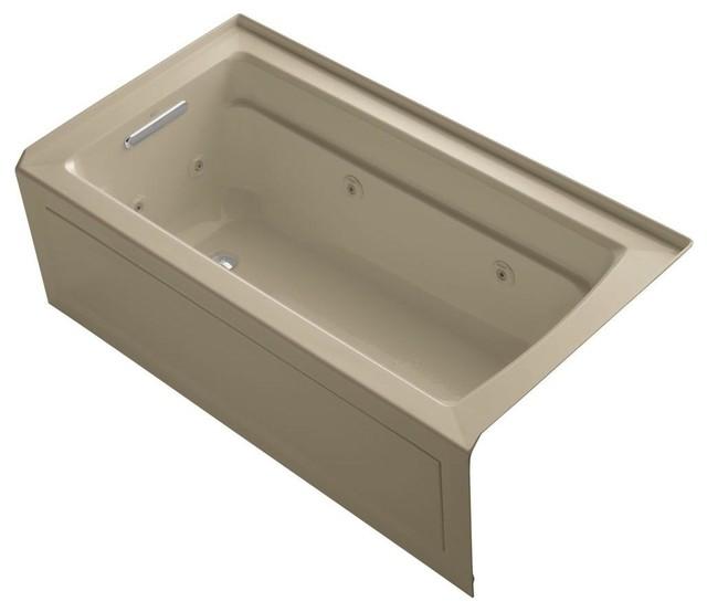 KOHLER Jetted Bathtubs Archer 5 ft. Whirlpool Tub in ...