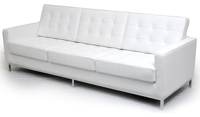 Kardiel midcentury modern florence knoll sofa 3 seat pure for Florence modern sectional sofa