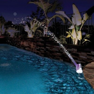 Color Cascade Waterfall Fountain contemporary-swimming-pools-and-spas