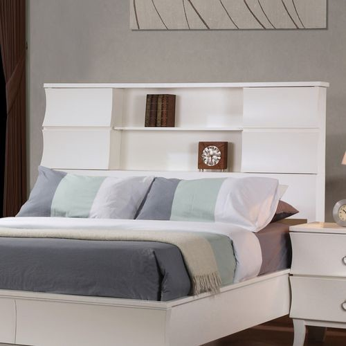 Berkley Storage Headboard - modern - headboards - by Wayfair
