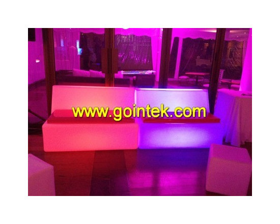 led bench chairs -