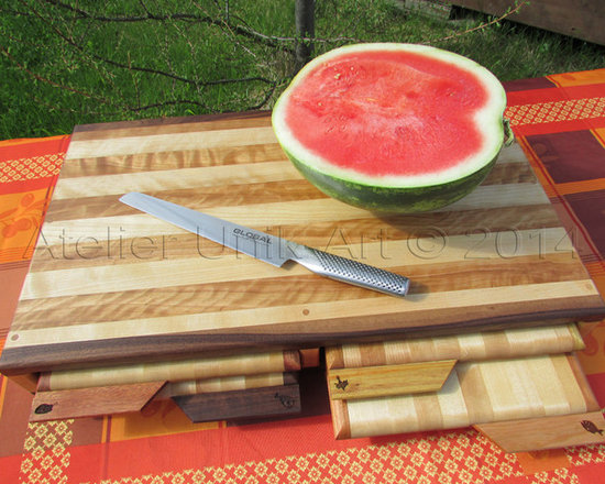 kitchen items - 5 in one cutting board  by Atelier Unik-Art