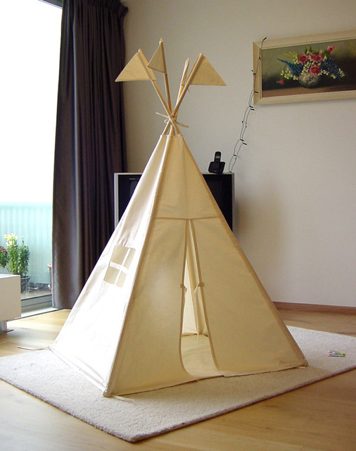 Tepee Tent eclectic-baby-and-kids