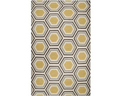 Surya Jill Rosenwald Fallon Black Rug contemporary rugs