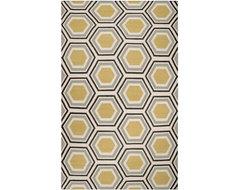 Surya Jill Rosenwald Fallon Black Rug contemporary-rugs