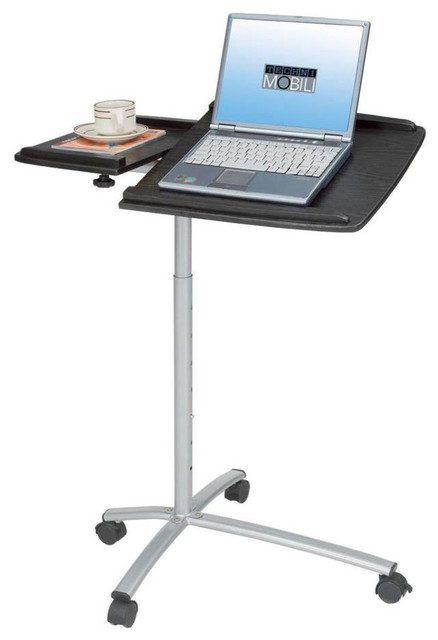Techni Mobili Rolling Laptop Stand Espresso