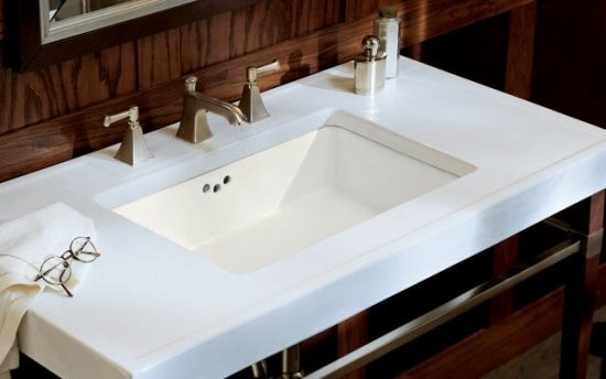 Kohler K 2297 G 96 Kathryn Undercounter Lavatory With Glazed Underside In Biscui Traditional