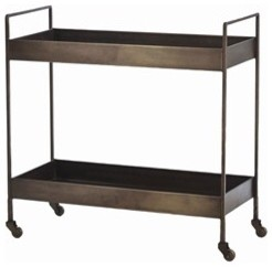 Ponce Iron Bar Cart modern bar carts