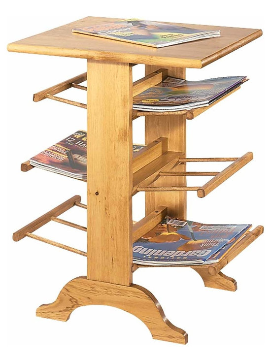 """Renovators Supply - Magazine Racks Country Pine Magazine Rack 