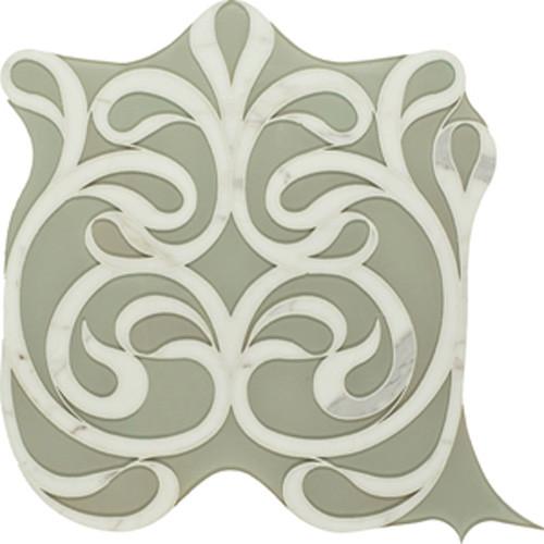 Vetromarmi Danse Lucido traditional-tile