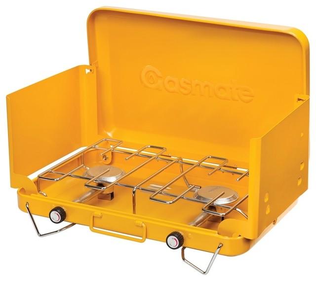 Gasmate 2 Burner Portable Camping Stove Contemporary