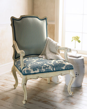 """""""Simone"""" Chair traditional-accent-chairs"""
