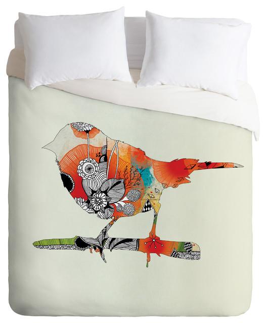 Iveta Abolina Little Bird Duvet Cover eclectic-duvet-covers