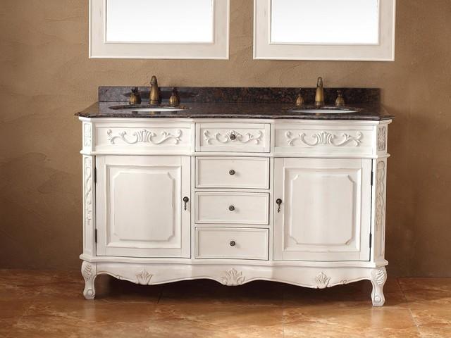 "60"" Donnybrook Double Sink Vanity traditional"
