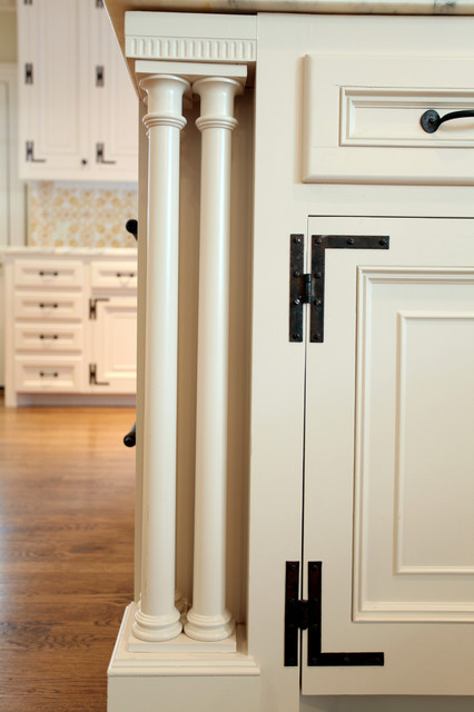 Federal Kitchen Cabinetry - Traditional - Kitchen Islands And Kitchen Carts - dallas - by Hull ...