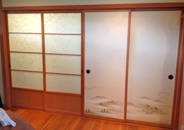 Japanese Shoji and Fusuma doors asian-interior-doors
