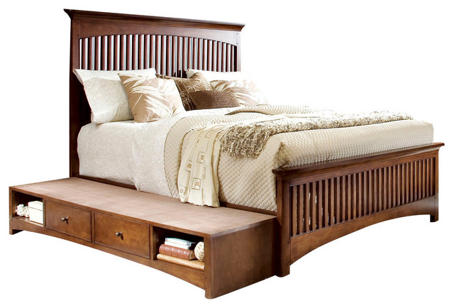 Lea Elite Crossover 3-Piece Slat Kids' Bedroom Set with Chest traditional-baby-and-kids