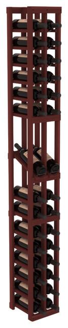 2 Column Display Row Wine Cellar Kit in Redwood, Cherry contemporary-wine-racks