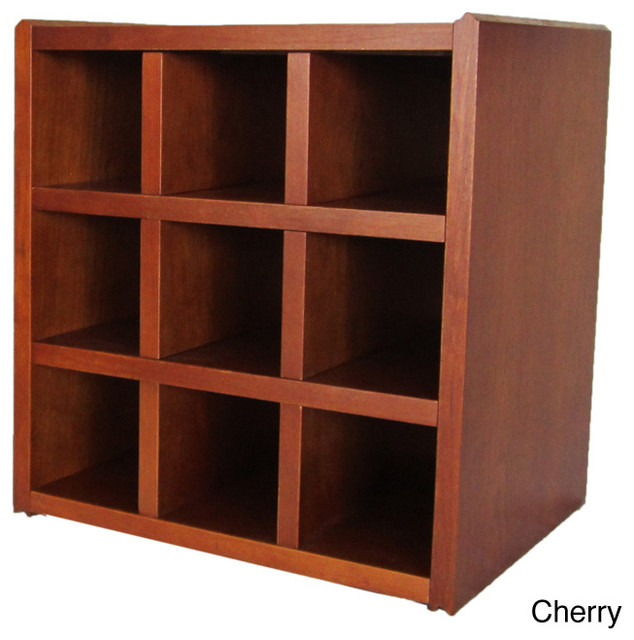 Qd-Box Wooden Wine Rack - Contemporary - Wine Racks - by Overstock.com