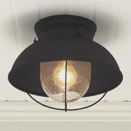 Nantucket ceiling light modern outdoor flush mount for Outdoor ceiling lights for porch