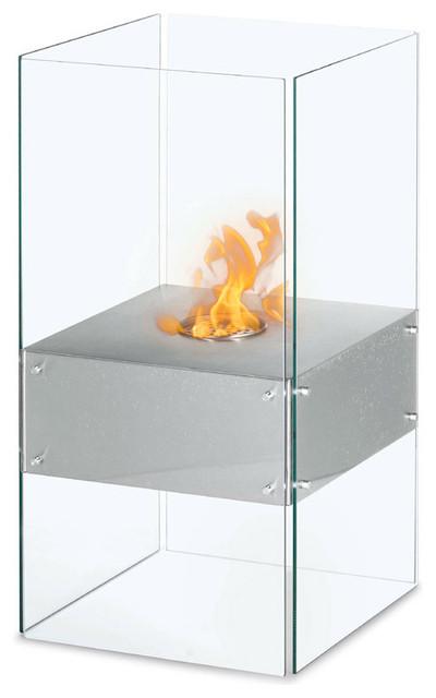Cella Free Standing Floor Indoor Outdoor Ethanol Fireplace Modern Indoor Fireplaces Other