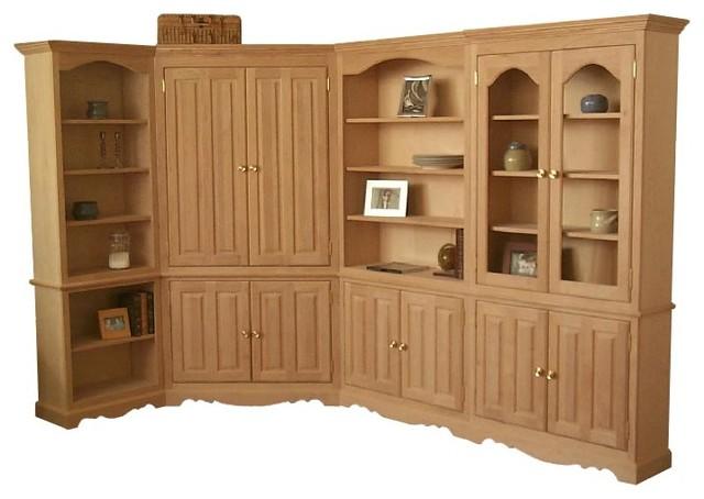 Furniture - Corner Entertainment traditional-furniture