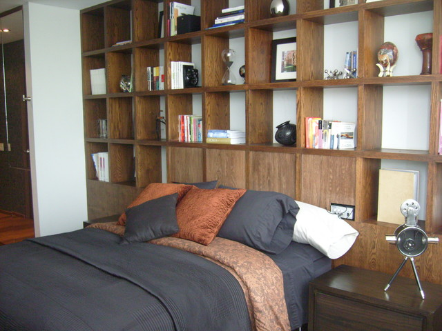 Living Spaces contemporary-bedroom
