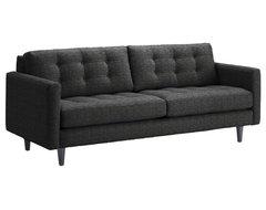Beverly Sofa, Charcoal, 87x38x34 modern-sofas
