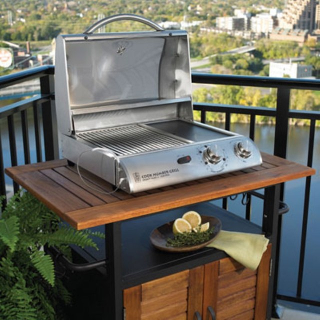 Electric Convection Table Top Grill Traditional
