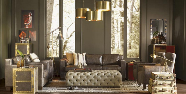 Esquire Home Collection Living Room contemporary-furniture