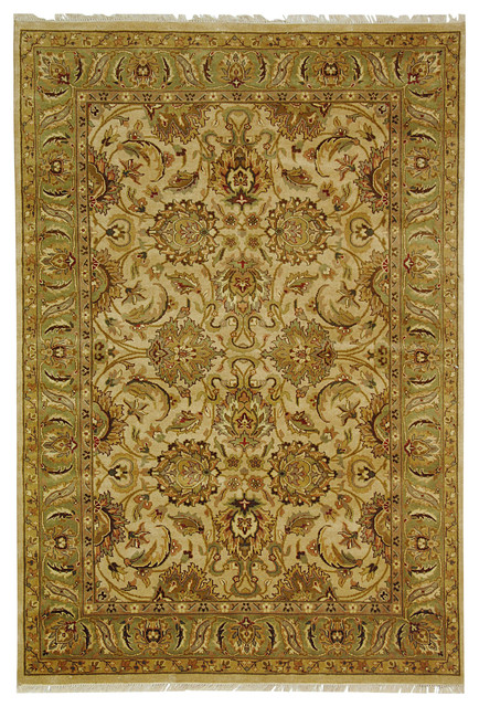 Dynasty Traditional Hand Knotted Wool Rug traditional-rugs