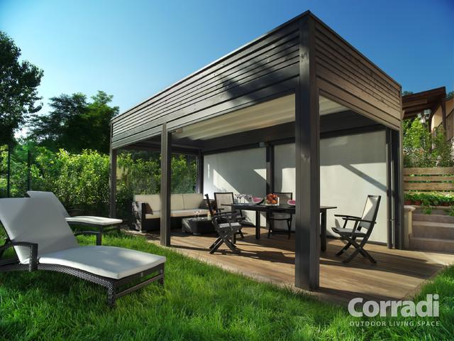 Modern Backyard Gazebo : Outdoor Pergola Shade Structure