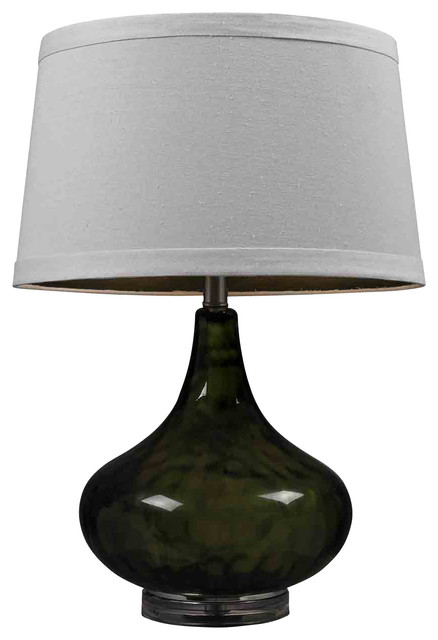 Dimond Lighting HGTV149 HGTV Home Green Water Glass Table Lamp contemporary-table-lamps